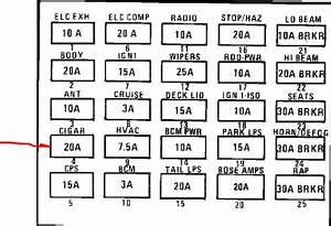 1990 Cadillac Brougham Fuse Box : where is the cigarette lighter fuse on a 1990 cadillac ~ A.2002-acura-tl-radio.info Haus und Dekorationen