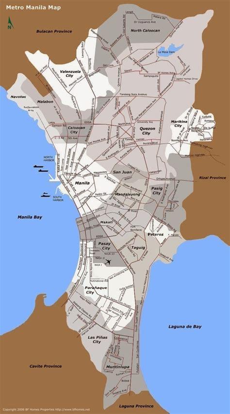 detailed street maps  manila  printable maps