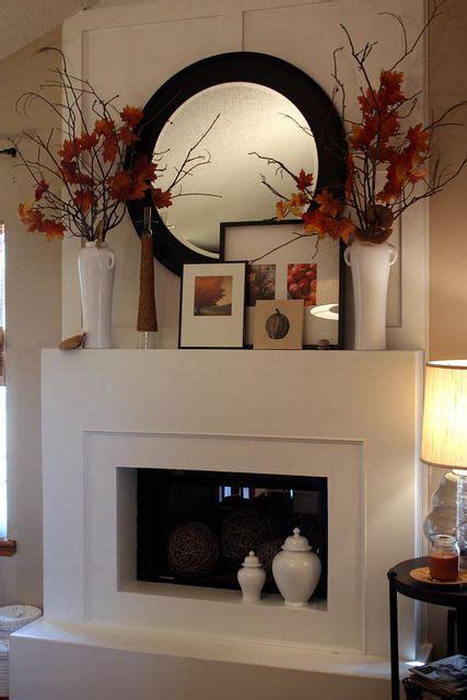 ideas  corner mantle decor  pinterest