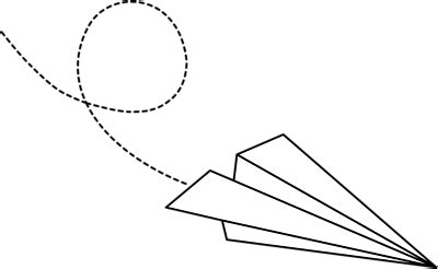 paper airplane clipart black and white paper airplane clipart black and white clipartxtras