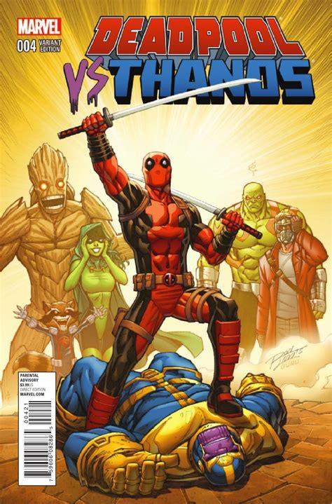 Preview Deadpool Vs Thanos #4 Allcomiccom
