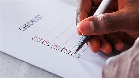 fundamental checklist  website navigation design