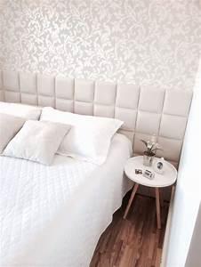 Deco Chambre Blanche : papier peint chambre blanche ~ Zukunftsfamilie.com Idées de Décoration