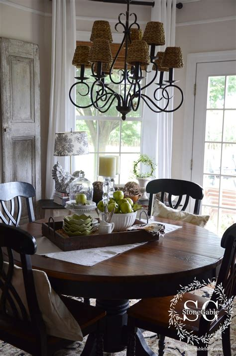 kitchen table top ideas dining table decor for an everyday look new home build