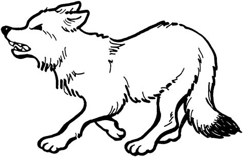 printable wolf coloring pages  kids animal place