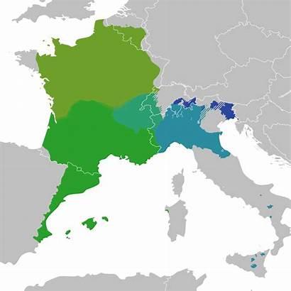Languages Romance Gallo Svg Roman Wikipedia Culture