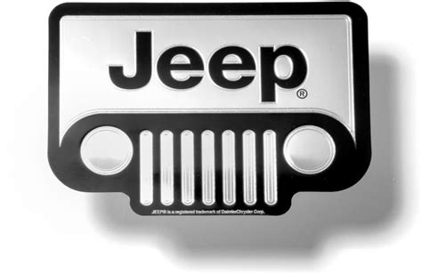 jeep grill decal 3029 classic emblemz jeep grille decal quadratec