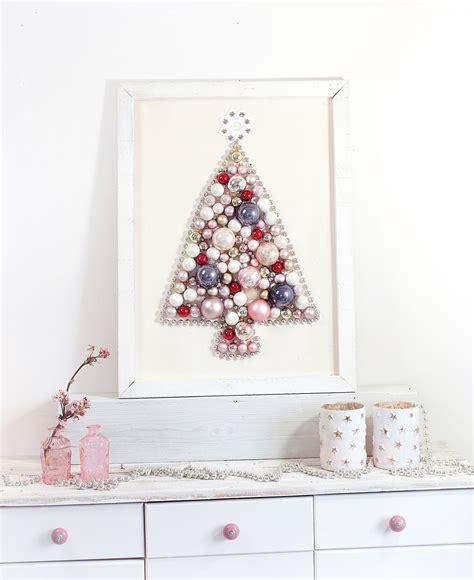 weihnachtsbaum selber machen diy weihnachtsbaum aus weihnachtskugeln