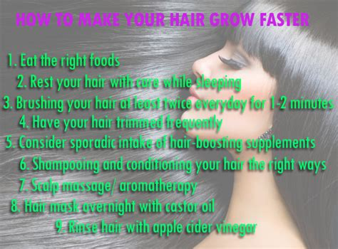 how to make your hair grow faster healthoop