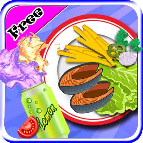 le jeux de cuisine chips de friture de poissons maker jeux de cuisine pour