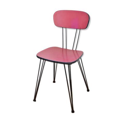 chaise en formica chaise en formica à pieds eiffel mes petites puces