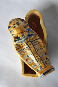 An Egyptian Sarcophagus Ceramic