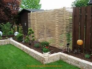 Kleiner Gartenzaun Holz : bildergallery bambus sichtschutz ~ Bigdaddyawards.com Haus und Dekorationen