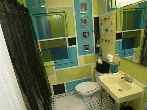 retro bathroom hgtv