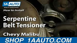 How To Replace Serpentine Belt Tensioner 97