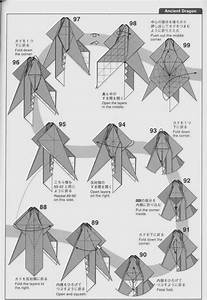 Step By Step Origami Ancient Dragon Instructions  U2013 Jadwal Bus