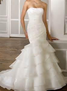 ivory wedding gowns organza mermaid ivory white wedding dress bridal gown lace up back ebay