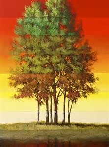 Surreal Tree Painting Acrylic