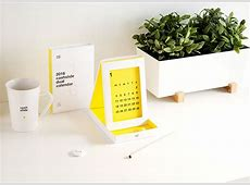 27 Creative Calendar Designs Inspiration 2017 Web