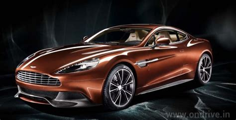 Aston Martin Vanquish Launched In India For Rs. 3.85 Crore