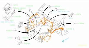 Subaru Crosstrek Hole Plug  Wiring  Main  Harness