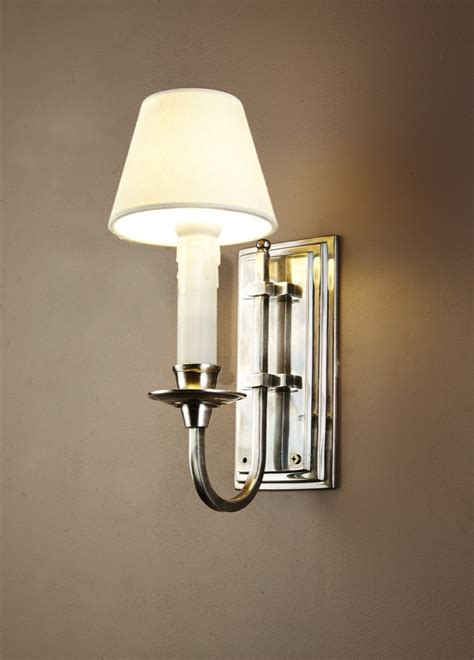 castleford wall light in antique silver christophe living