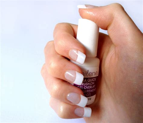 Salon Nails for Half the Price? Nailene Ultra Quick Brush