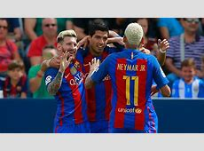 Lionel Messi, Neymar and Luis Suarez are world's best