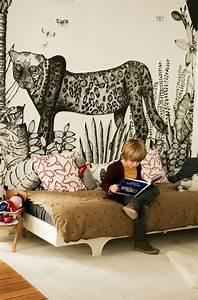 Zimmerpflanzen Für Kinderzimmer : die besten 25 leopardenmuster tapete ideen auf pinterest leopard tapete leopardwand und ~ Orissabook.com Haus und Dekorationen