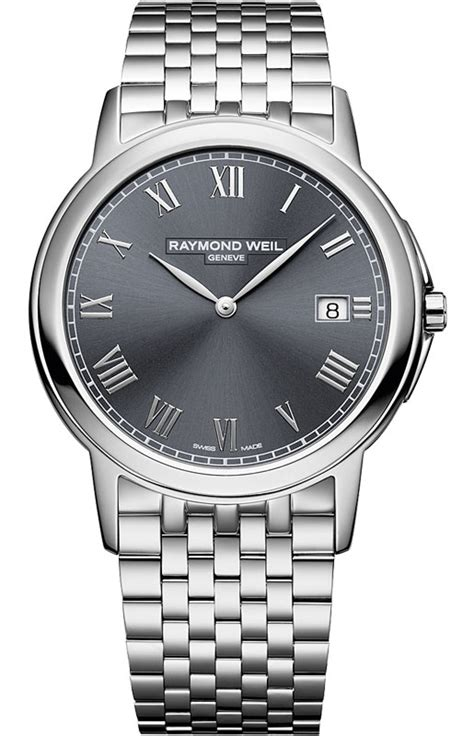5466st00608 Raymond Weil Tradition Mens Grey Dial