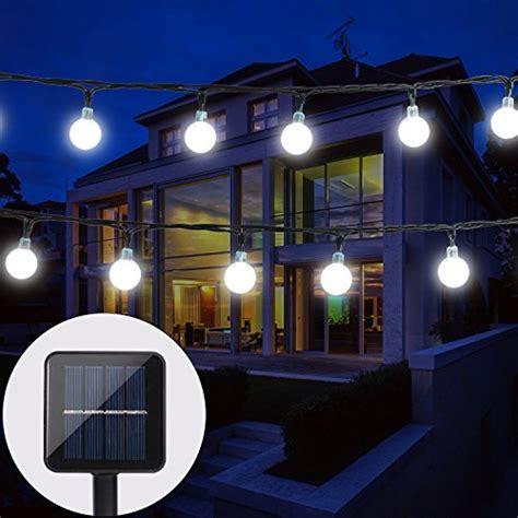 Kugel Beleuchtung Für Aussen by Baoant Solar Lichterkette Garten Globe Au 223 En Mit Led Kugel