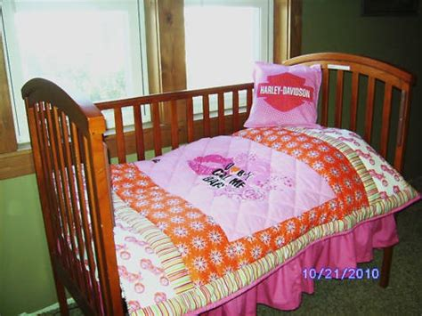 harley davidson crib bedding custom pink harley davidson baby crib toddler bedding set