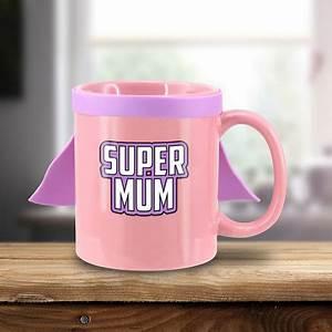 Mug Fete Des Meres : mug f te des m res original en c ramique avec cape sur rapid cadeau ~ Teatrodelosmanantiales.com Idées de Décoration