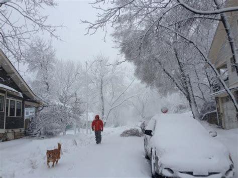 Wet Snow Winds Lash Kansas City Region KCUR