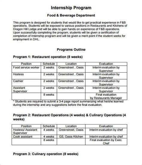 business plan templates for art programs 8 program outline templates doc pdf free premium