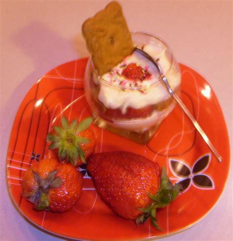 maman cuisine verrines fraises speculos maman cuisine