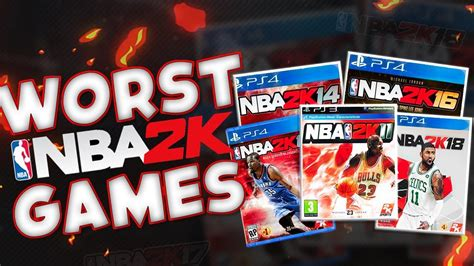 Five Worst Nba 2k Games Of All Time Youtube