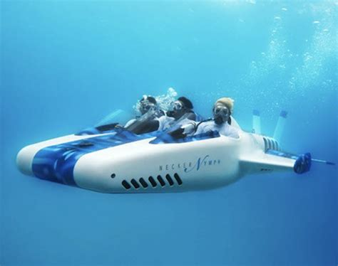 virgin limited edition necker nymph underwater airplane