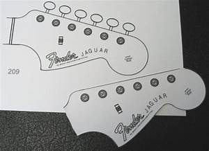 27 images of fender stratocaster neck templatepdf With strat neck template