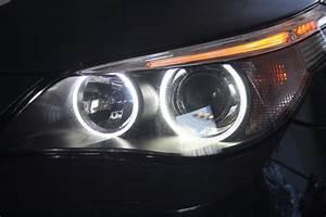 Bmw E60 Facelift Scheinwerfer : cree seitronic led angel eyes f r bmw e60 e61 ohne xenon ~ Kayakingforconservation.com Haus und Dekorationen
