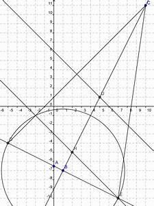 Schwerpunkt Berechnen Dreieck : wie berechnet man schwerpunkt h henschnittpunkt und umkreismittelpunkt des dreiecks mathelounge ~ Themetempest.com Abrechnung