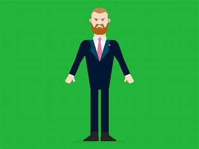 Mcgregor Connor Animation Conor Dribbble Character
