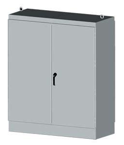 nema type 3r 12 free standing two door dual access