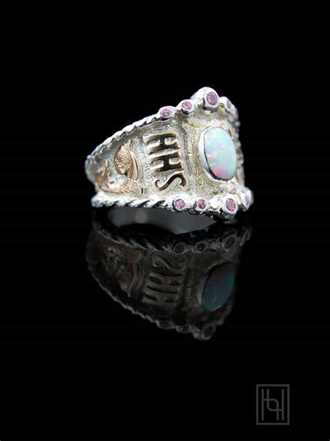 custom rimrock rope crystal ring customized rings