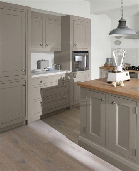 Kitchen Cupboard Colours by Suede Painted Kitchen In A Timeless In Frame Shaker Style