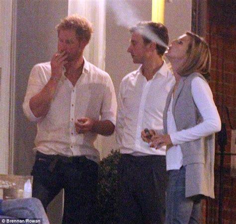 prince harry smoking cigarette   friends