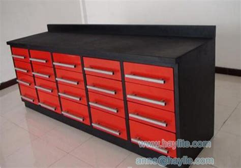 widely  industrial moving steel workbenches
