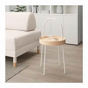 Ikea Table Appoint : burvik table d 39 appoint blanc ikea ~ Teatrodelosmanantiales.com Idées de Décoration