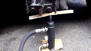 Double Acting Hydraulic Ram  U0026 Hand Pump