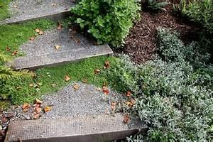Comment Faire Des Marches Dans Un Talus : cr er un escalier au jardin mat riau hauteur et profondeur des marches ~ Melissatoandfro.com Idées de Décoration